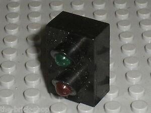 Feu-LEGO-train-12v-Electric-Light-Brick-with-Red-amp-Green-Signal-x542-set-7860