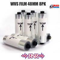 Rip N Roll Off Film for RNR Colossus WVS XXL 48mm Motocross MX Enduro Goggles x8