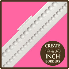 Katy Sue Designs Shallow Pearl Borders Cake Crafting Mould