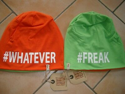 "(v) Freaky Testa Svolta Berretto Jersey Bambini Beanie"" #freak"""" #whatever ""pressione 54-"