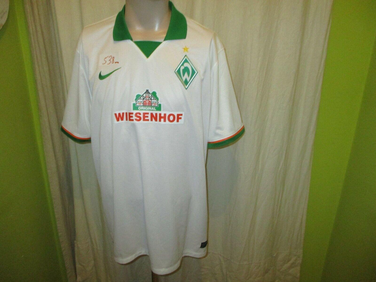 Werder Bremen Original Nike Auswärts Trikot 2014 15  WIESENHOF  Gr.XXL Neu