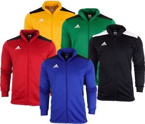 Détails sur Adidas Homme regista 18 Pes Survêtement Football Training Top Veste Zip Complet Cool afficher le titre d'origine