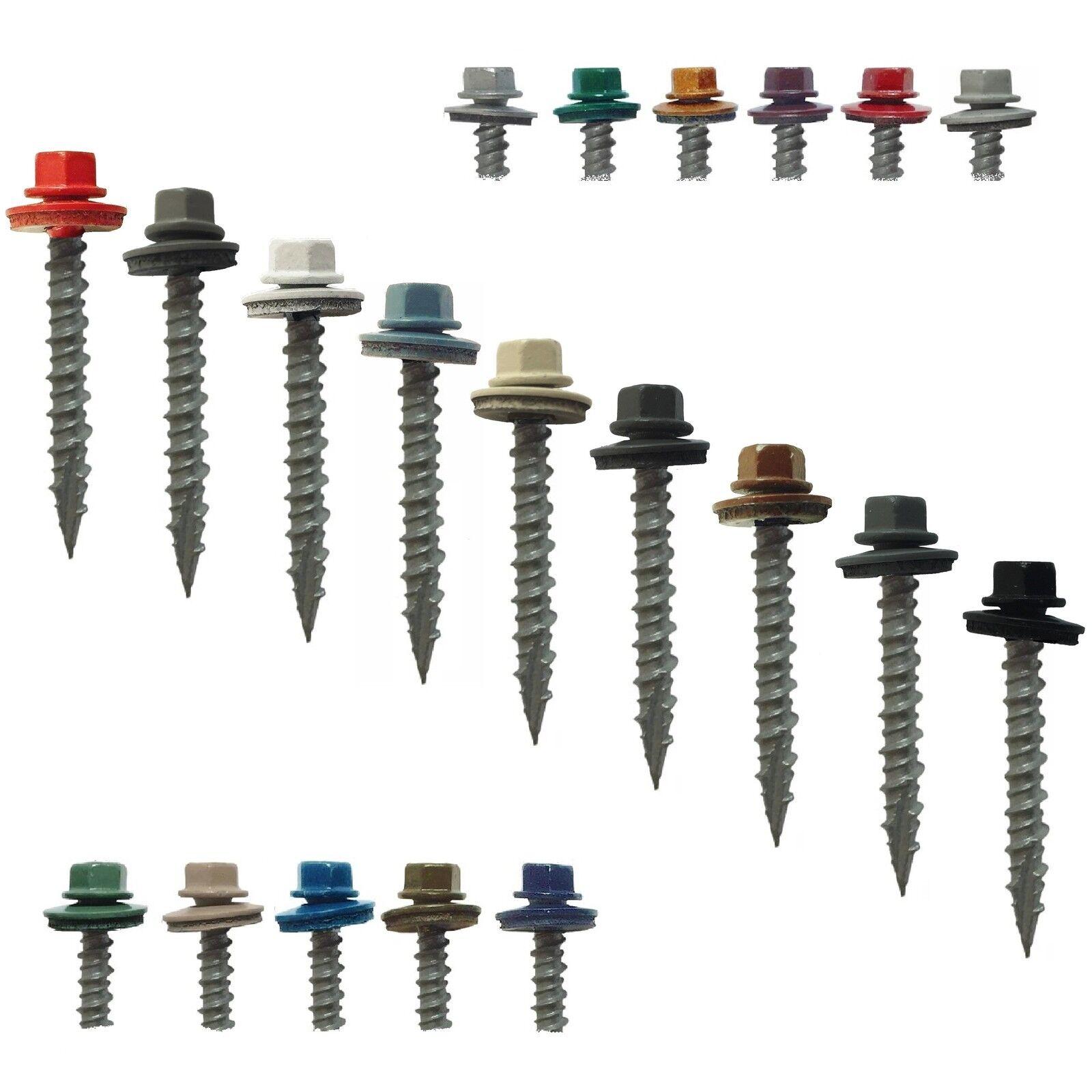 METAL ROOFING SCREWS Bulk  1-1 2  (1000) ColGoldt Metal Siding and Roofing Screws