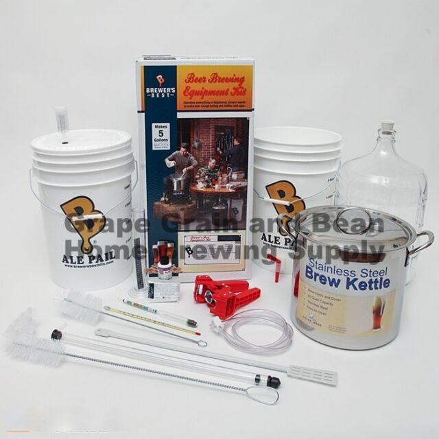 Brewers Best (BEAST) Home Brewing Equipment Kit, Beer Making Equipment Kit