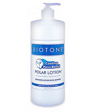Biotone Polar Lotion - 32oz - Therapeutic Cold Therapy Cooling Pain Relief