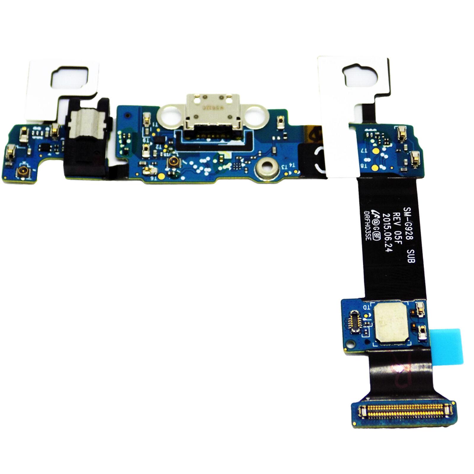 Samsung Galaxy S6 Edge Plus G928c Usb Charging Port Mic Headphone Flex Board Ebay