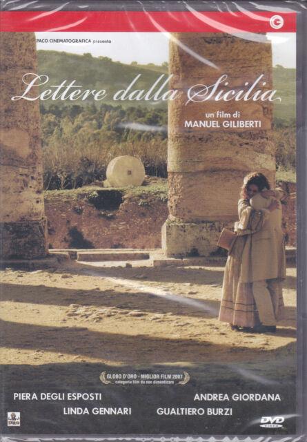 Dvd **LETTERE DALLA SICILIA** con Andrea Giordana nuovo 2007