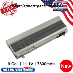 New-Charger-Battery-For-Dell-Latitude-MP303-E6400-E6410-E6500-E6510-PT434-Laptop