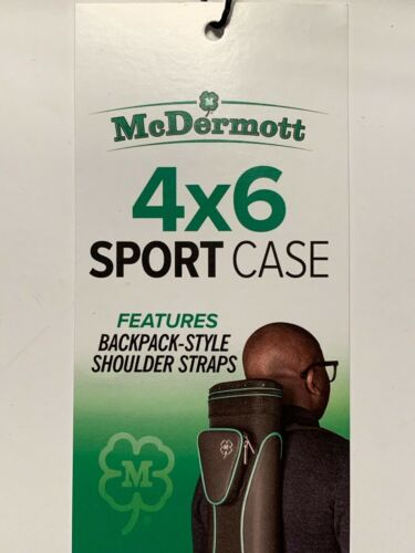 HEAVY DUTY BRAND NEW FREE SHIPPING MCDERMOTT 4X6 SPORT CASE NEW MODEL!