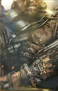 CALL-OF-DUTY-ADVANCED-WARFARE-Game-Promo-Poster-Exclusive-Gamestop-DOUBLE-SIDED