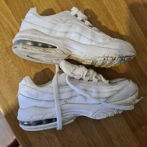 Nike air max 97s Size 2 UK white kids