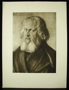 Albrecht-Durer-Portrait-Of-Hieronymus-Holzschuher-1526-Litho-Beautiful-Epreuv