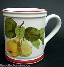 1970's Denby Tea or Coffee Mugs 9.5cmh Collection of Fruit - Pears Look in VGC