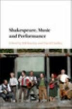 SHAKESPEARE, MUSIC AND PERFORMANCE - BARCLAY, BILL (EDT)/ LINDLEY, DAVID (EDT) -