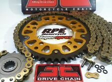 Kawasaki EX300 Ninja 300 13-16 JT GOLD X-Ring SuperSprox chain and sprockets kit