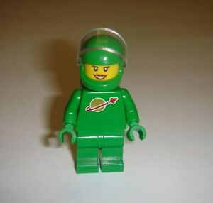 Minifigure Lego Classic Space Pete 21109 Green with Airtanks Ideas CUUSOO