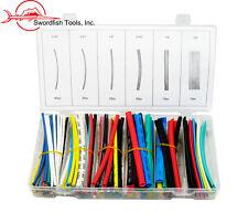 Swordfish 61190 - 160pc Colored Electrical Heat Shrink Tubing Assortment