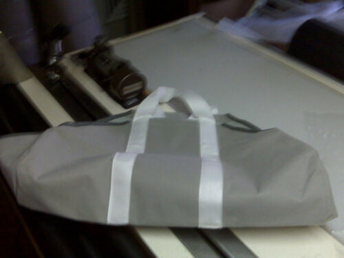The BEST wood tote bag soft sided folding