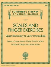Scales and Finger Exercises Upper Elementary to Lower Intermediate Pia 050499878