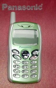 Panasonic-GD55-GREEN-UNLCOKED-TRIBAND-WORLDS-SMALLEST-GSM-CELL-PHONE-REFURB