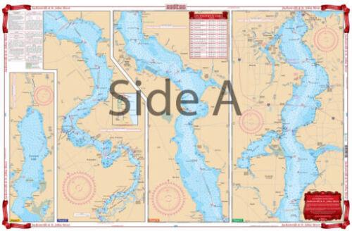 Imperméable tableaux 37 Jacksonville /& St Johns la navigation fluviale-Free Ship