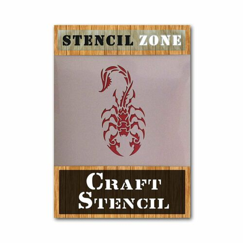 Scorpion Mylar Airrush Pintura Pared Arte Stencil 2