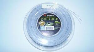 AgréAble *neu*solinco Tour Bite Soft Saitenset 12m Tennis 1.30mm Silber 16g Stringset New