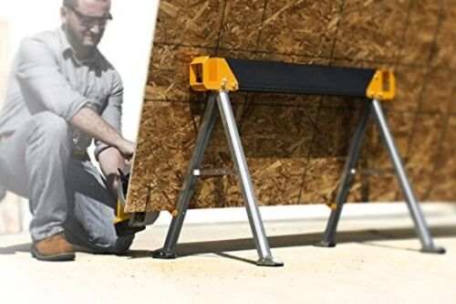TOUGHBUILT Steel Saw Horse Portable Folding Work Table Heavy-Duty NEW TB-C550