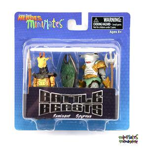 Comic-Book-Heroes-Minimates-Series-1-Battle-Beasts-Ruminant-amp-Spyrnus