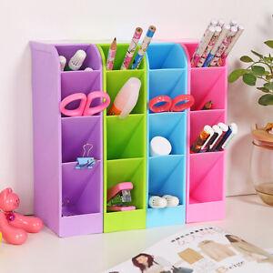 Neu-Desktop-Kunststoff-Aufbewahrungsbox-Kosmetik-Organizer