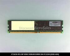 HP 373030-051 DDR 2GB PC-3200 Reg ECC 400Mhz 2Rx4 RAM Memory