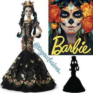 BARBIE EL DIA DE LOS MUERTOS MEXICAN DOLL FIRST EVER DAY OF THE