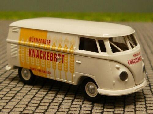 1//87 Brekina # 1349 VW T1 b Nürnberger Knäckebrot SONDERPREIS 6 € statt 9,90 €