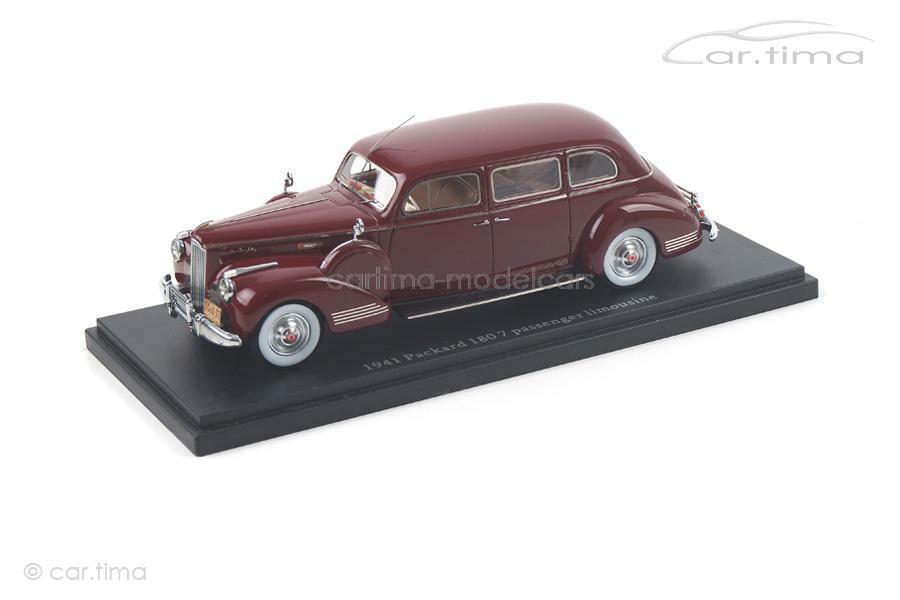 Verpackungard 180 7 Passenger Limousine 1941 - dunkelrot - 1 of 500 - Esval Modells - 1