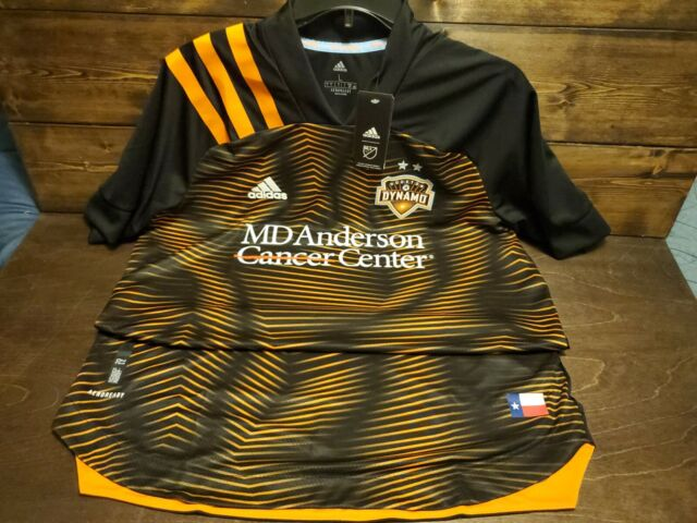 adidas Houston Dynamo Away Jersey 2019-20 Mens Large Authentic for ...