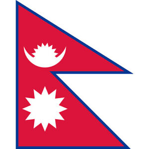 NEPAL COUNTRY FLAG   STICKER   DECAL   MULTIPLE STYLES TO CHOOSE FROM