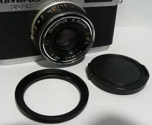 43.5mm to 49mm Filter Step Up Ring & Lens Cap Olympus 35 ED RC EC ECR PEN D D2