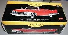 1960 Plymouth Fury Open Convertible Valiant Red 118 Sun Star Diecast New In Box