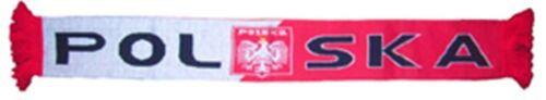 "Polen Schal /""POLSKA/""   FAN Bialo-Czerwoni neu EM 2016 Scarf Echarpe"