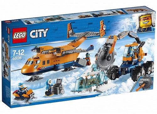Lego 60196 Ártico  Avión de suministros
