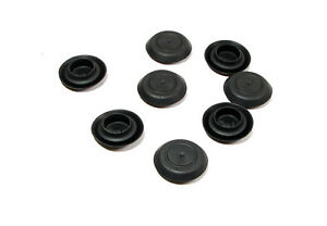 Details about 8 NEW Genuine CAPLUGS Brand Flexible 19-20mm Black Plastic  Hole Plugs BPF-19MM