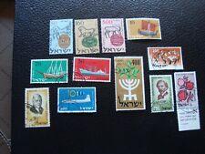 Israel - Briefmarke Yvert / Tellier Nr. 121/23 134/36 138 140 150 155/57