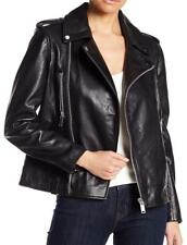 2d9af14162eee With Tag - Walter Baker Liza Black Moto Leather Jacket Size Extra Small