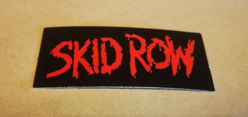 Vinyl Skid Row Band Logo Skate Sticker Guitar Laptop Phone Case Mirror etc