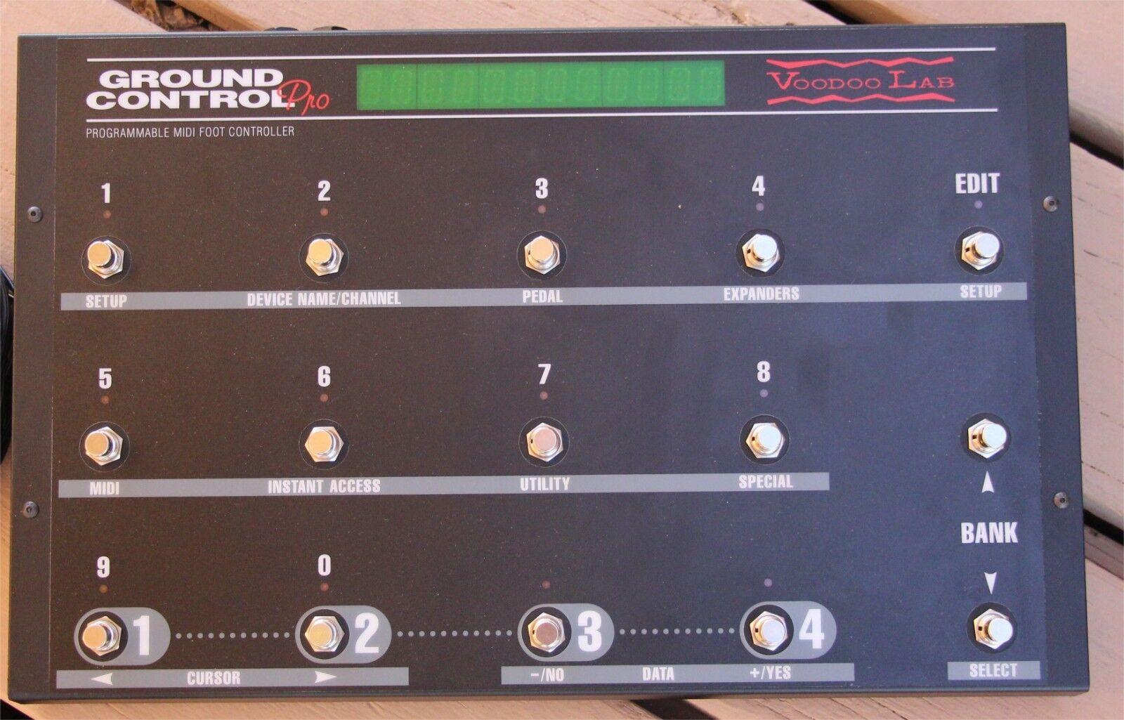 Voodoo Lab Ground Control Pro. Bekommen Sie die volle Kontrolle über Ihre Gitarren-Rig.