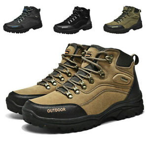 Mens-Waterproof-Leather-Hiking-Work-Boots-Snow-Outdoor-Warm-Sneaker-Winter-Shoes