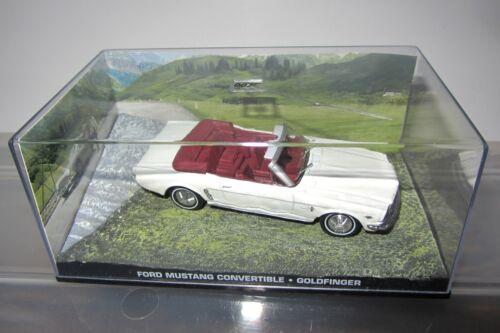 James Bond 007 Voiture Collection modèles Aston Martin Mustang Chevrolet Citroen