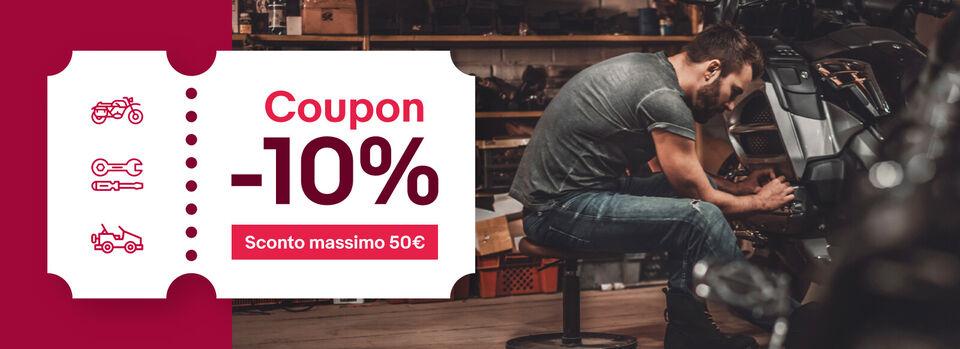 Scopri i prodotti - Stagione nuova? -10% su ricambi e accessori!