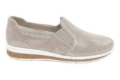 Rieker Damenhalbschuhe Slipper in Grau N5160 42 | eBay