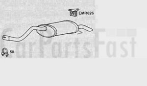 Exhaust-Rear-Box-Renault-Clio-Campus-1-5-Diesel-Van-11-2005-to-12-2006